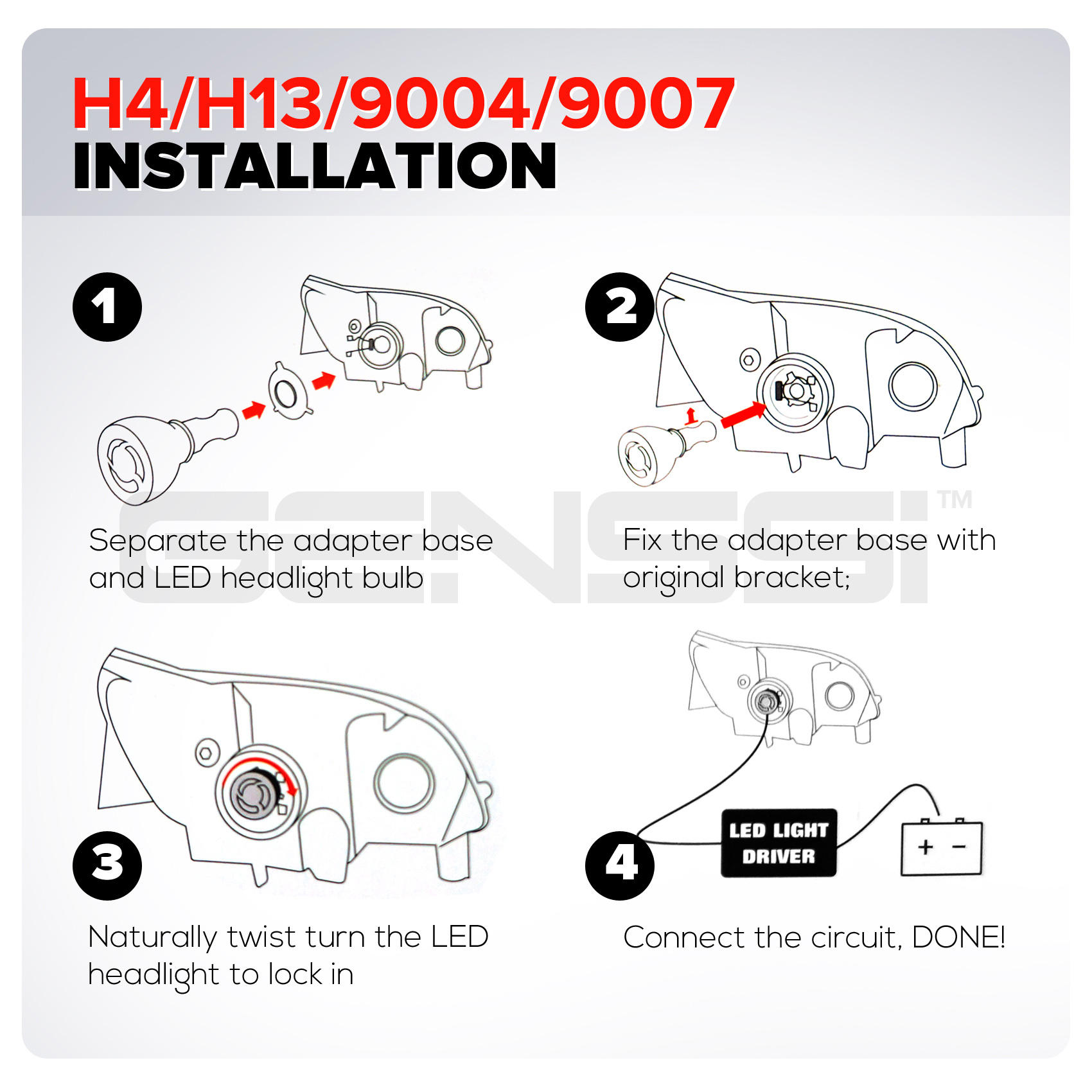 h13 bulb wiring diagram h13 headlight