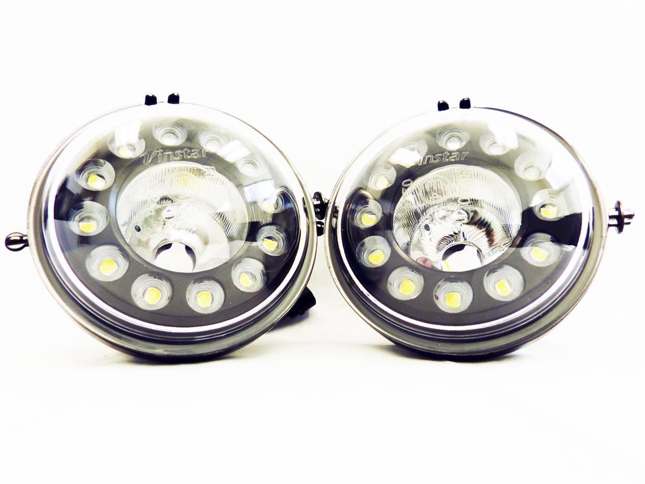 mini cooper r56 r60 s led drl daytime running light fog l housing oem ebay